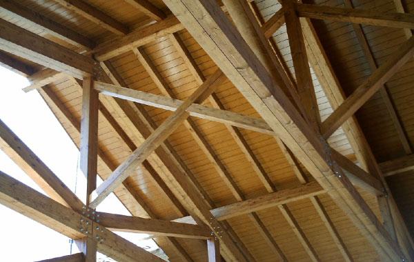 Techo de madera